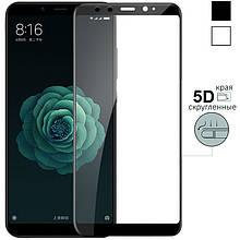 Защитное стекло 5D Xiaomi Mi 8SE (чёрный)