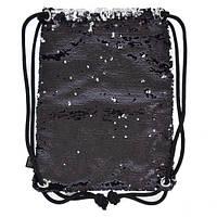 "Сумка-мешок ""Black Sequins "", фото 1"