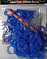 Резинки в пакете синие   200шт.