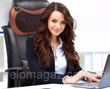 Универсальный массажер для дома и автомобиля Care & Home Massager Pillow