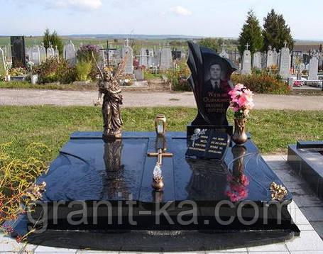 Установка памятников из гранита, фото 2