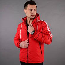 Демісезонна куртка чоловіча червона   Даслер М-ХЛ