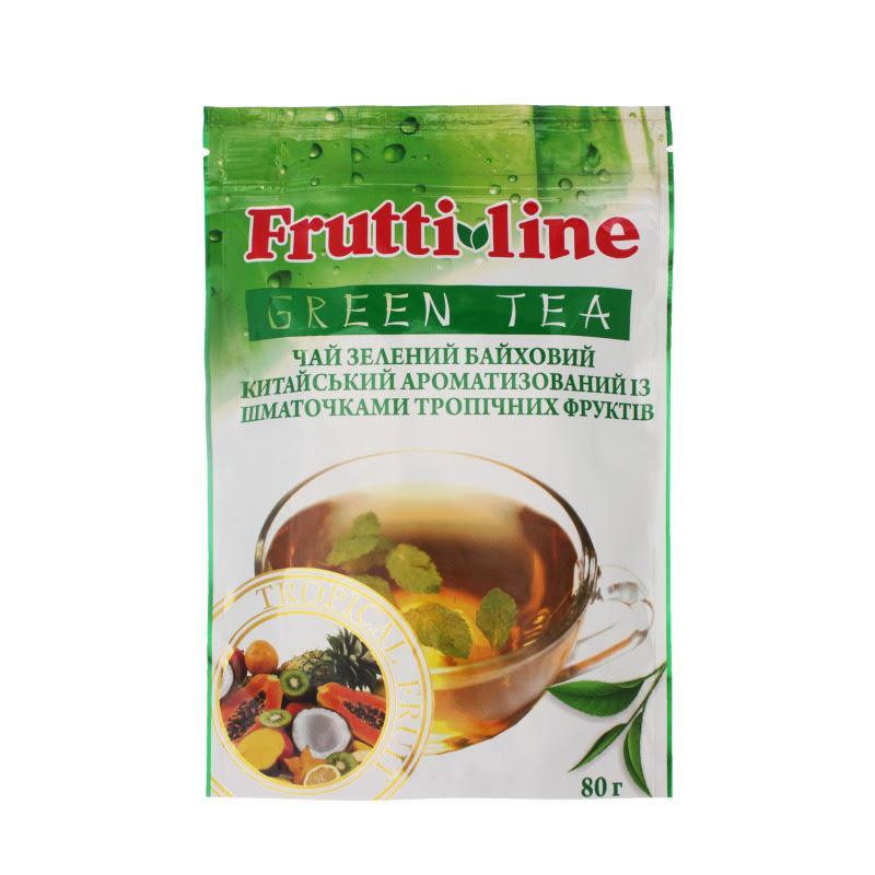"""Акция! Чай зеленый байховый TM Fruit Line """"Tropical fruit"""" 80g"""