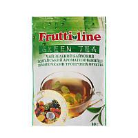 "Акция! Чай зеленый байховый TM Fruit Line ""Tropical fruit"" 80g, фото 1"