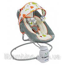 Дитяче крісло-качалка Baby Mix by002 360 Grey