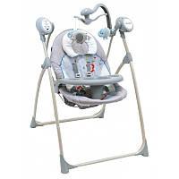 Дитячее крісло-качалка Baby Mix SW102RC + мобіль та пульт Dino