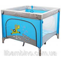 Дитячий універсальний манеж Baby Mix HR-SQ100 100x100 Blue