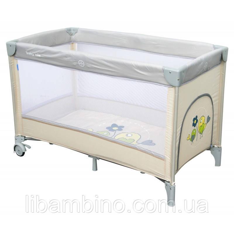 Дитячий універсальний манеж Baby Mix HR-8052 Beige