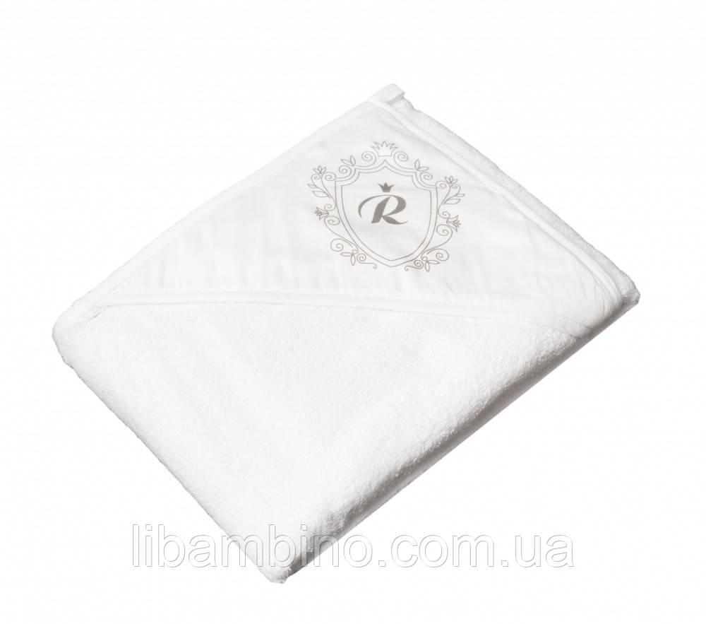 Дитячий м'який махровий рушник Tega Royal RL - 008 100x100 White