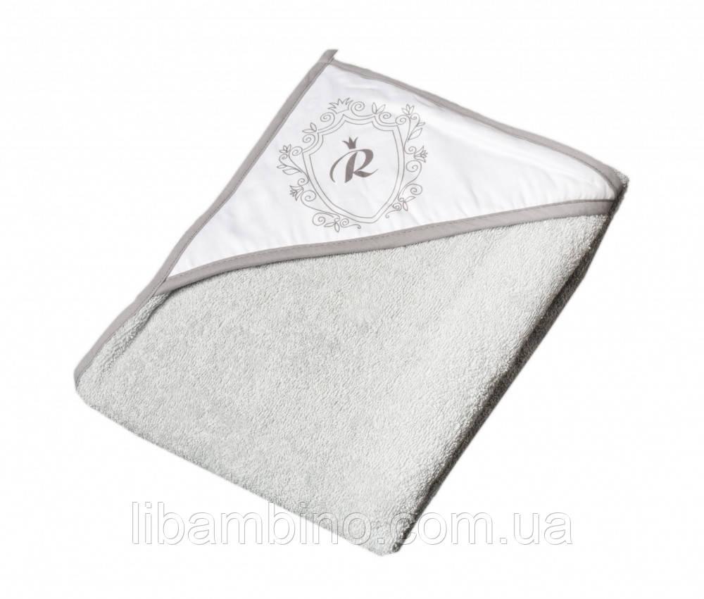 Дитячий м'який махровий рушник Tega Royal RL - 008 100x100 Grey