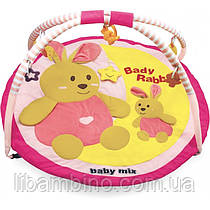 Дитячий ігровий розвиваючий коврик Baby Mix TK/3168C Кролики