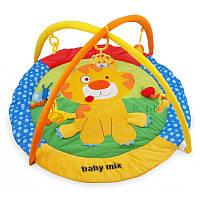 Дитячий ігровий розвиваючий коврик Baby Mix TK/3249С Тигрик