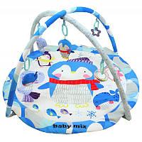 Дитячий ігровий розвиваючий коврик Baby Mix TK/3434PP Пінгвін