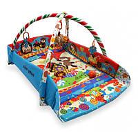 Дитячий ігровий розвиваючий коврик Baby Mix TK/Q3261CE-4278 Країна солодощів