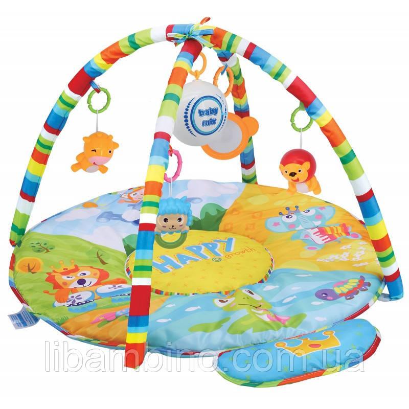 Дитячий ігровий розвиваючий коврик Baby Mix HS-789-13 Сафарі