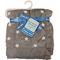 Плед Baby Mix SH-45554CL Stars grey