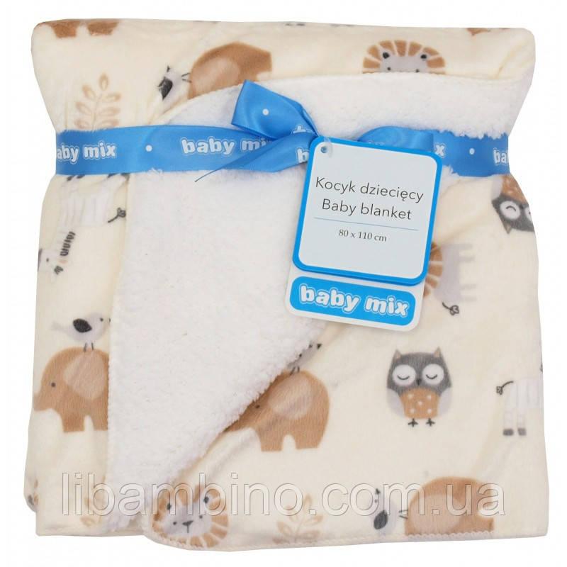 Плед Baby Mix SH-JB1747718N 80x110 Сафарі beige