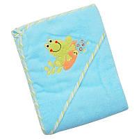 Дитячий м'який махровий рушник Baby Mix CY-33 Frog