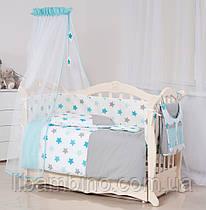 Комплект дитячої постілі Twins Stars 3D 9 эл S-001