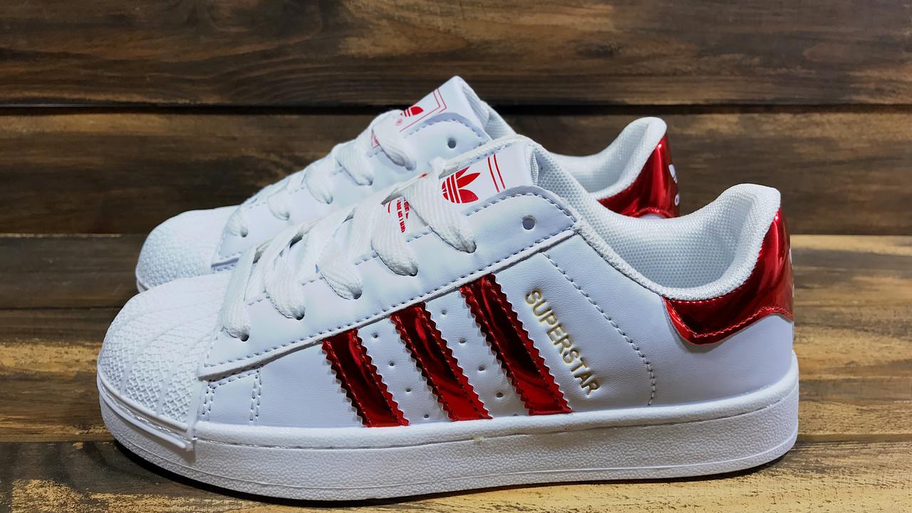 835816ca Кроссовки женские Adidas Superstar (реплика) 0003: 620 грн ...