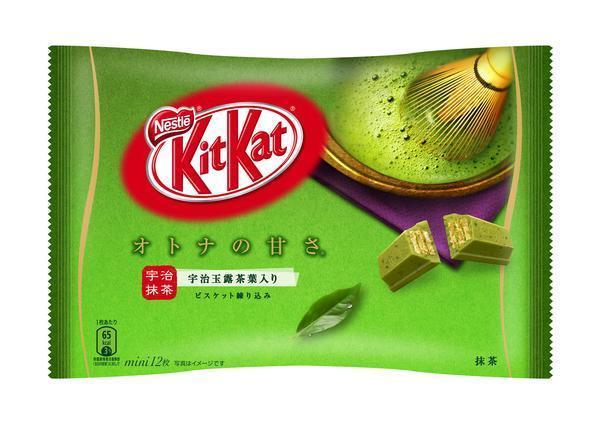 Шоколадные батончики Kit Kat Green, фото 1
