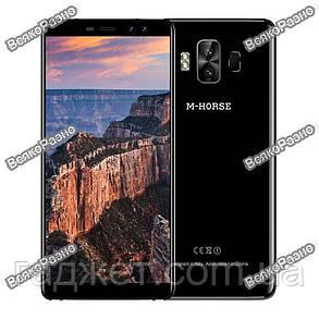 Смартфон M-Horse Pure 1 черного цвета - 5.7 2/16 Gb, 4380 mAh, Android 7 металл Телефон., фото 2