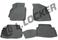 Коврики для салона авто Chevrolet Lacetti 2004- Daewoo Gentra II 2013- L.Locker Шевроле