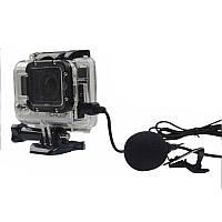 Петличный микрофон Alitek RX-112 Mini USB с тканевым шнуром