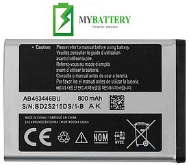 Оригинальный аккумулятор АКБ батарея Samsung X200/ E250/ B130/ B320/ C130/ C140/ AB463446BU 800 mAh 3.7 V