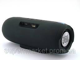 JBL Charge E11 10W копия, портативная колонка c Bluetooth FM MP3, серая голубым, фото 2