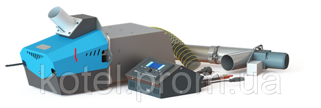 Пеллетная горелка Kvit для котла Eurotherm 300 АМ