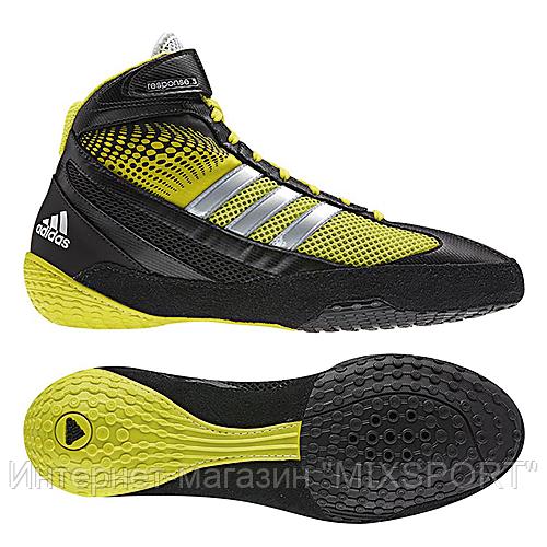 Борцовки adidas RESPONSE III black