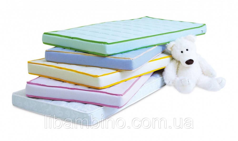 Матрас дитячий в ліжечко Twins Luxe Гречка 120x60 Colors