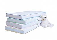 Матрас дитячий в ліжечко Twins Luxe 120x60 White