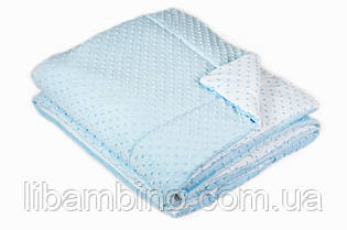 Ковдра в ліжечко Twins MInky 115/155 Blue