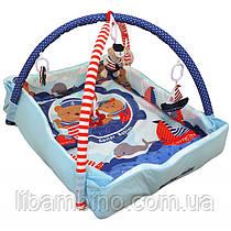 Дитячий ігровий розвиваючий коврик Baby Mix TK/3406С-62104 Моряки