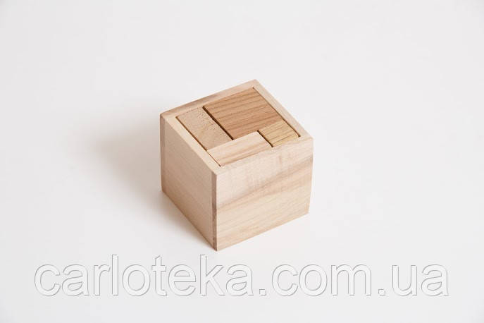 """Деревянная головоломка """"Гала-куб"""""""