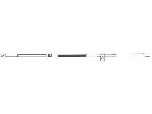 Кабель управления газа/реверса Ultraflex MACH36
