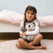 Теплая игрушка для детей Хови Хаски Zazu с ароматом лаванды, фото 3