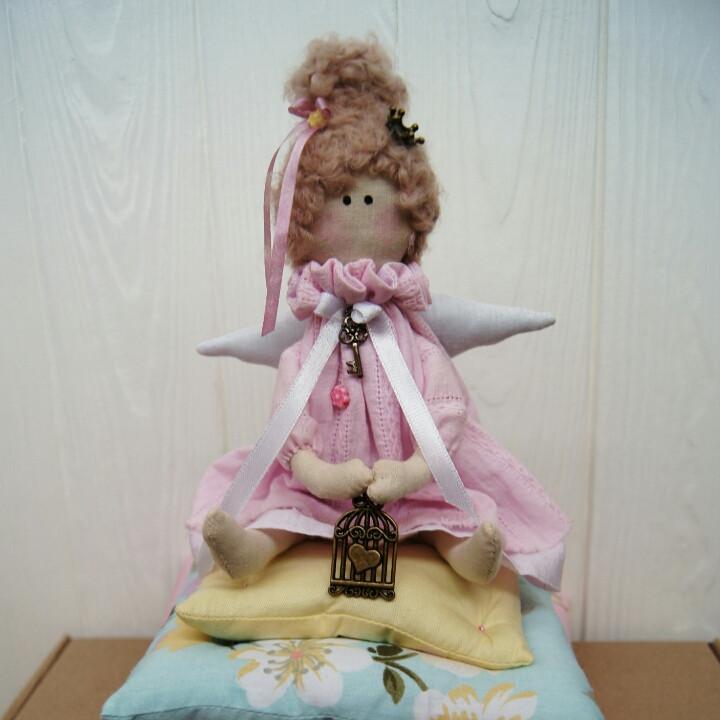 Принцесса на горошине, кукла в стиле Тильда, Hand Made