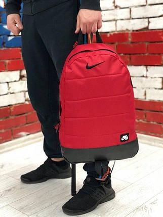 Рюкзак  Nike (Найк) Красный, фото 2