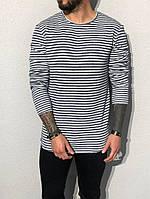 Стильный мужской лонгслив, кофта, свитер. ТОП КАЧЕСТВО!!!, фото 1