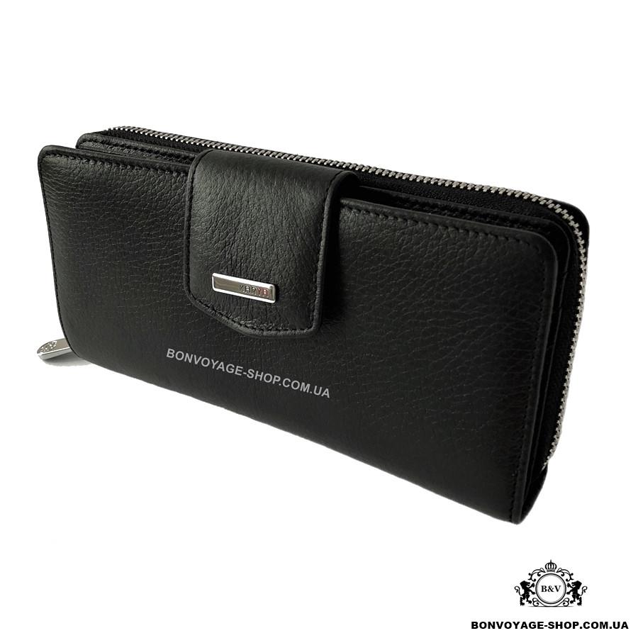 b73dca03c5fb Женский кошелек кожаный Karya 1119-45 черный - купить по лучшей цене ...