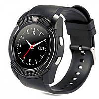 Умные смарт часы телефон Bluetooth microSD Smart Watch Phone V8 Black, фото 1