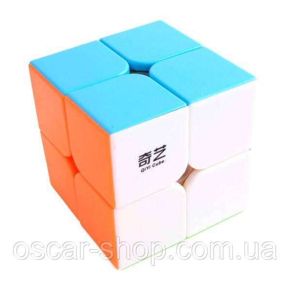 Кубик Рубика QiYi QiDi S 2x2 Color | Кубик КиДи без наклеек