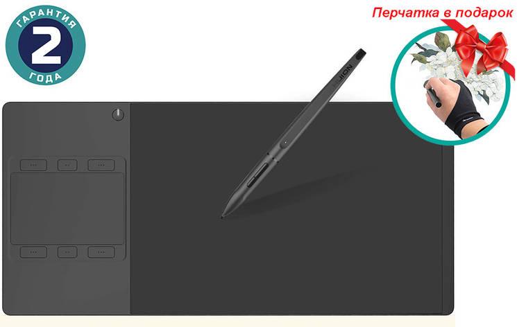 Графический планшет Huion Inspiroy G10T + перчатка, фото 2