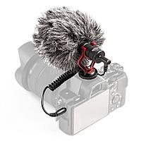 Зовнішній мікрофон для фото і відеокамер Boya BY-MM1, фото 1