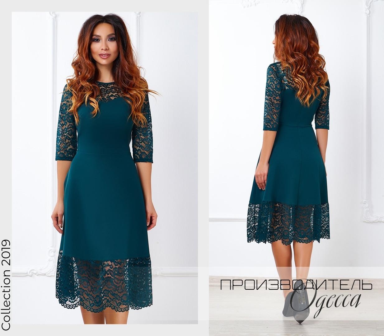 Красивое женское платье Агния