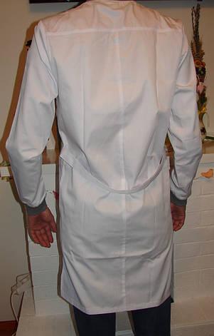 Мужской медицинский халат коттон 3138 ( 42-56 р-р ), фото 2