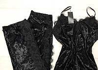 Велюровая женская пижама , фото 1